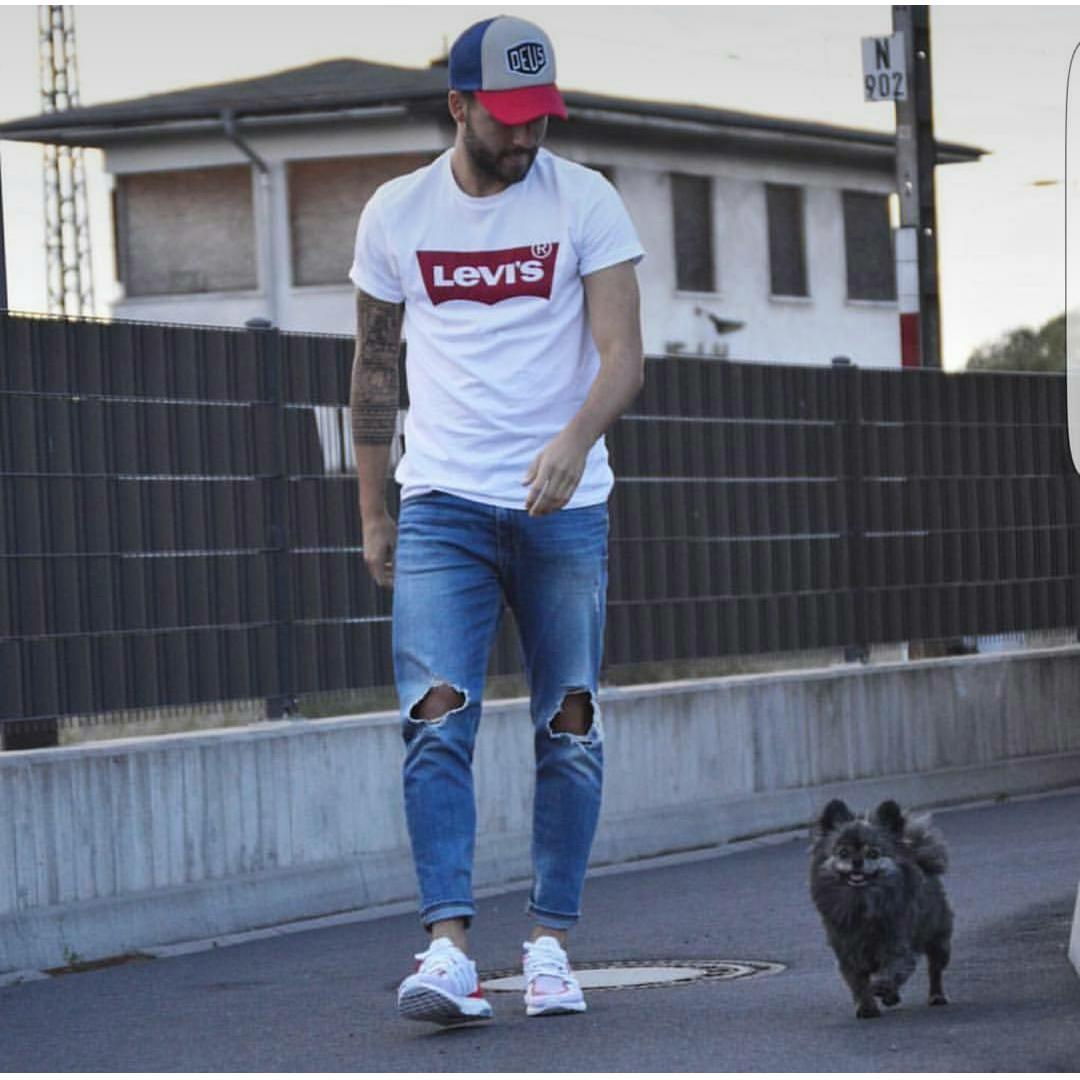INC Tumblr Tee / T-Shirt / Kaos Pria Lev - Putih harga penawaran - Hanya Rp32.715
