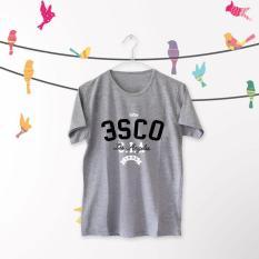 ELLIPSES.INC Tumblr Tee / T-Shirt / Kaos Wanita Lengan Pendek 3SCD Los Angeles - Abu
