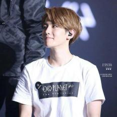 ELLIPSES.INC Tumblr Tee / T-Shirt / Kaos Wanita EXO PLANET#2 - Putih