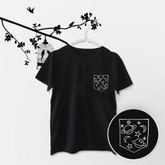 ELLIPSES.INC Tumblr Tee / T-Shirt / Kaos Wanita Pocket Planet - Hitam