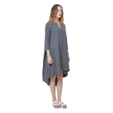 Eloise Dian Tunic Dress in Charcoal
