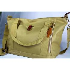 Beli Eloria Promo Tas Wanita Traveling Casual Selempang Fashion Shopping Tote Bag Korean Import Light Olive Hijau Zaitun Murah Di Riau Islands