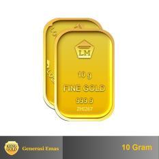 Gold Emas 10 Gram Logam Mulia 999 9 Sertifikat Antam Authorized Seller Diskon Akhir Tahun