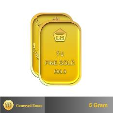Spesifikasi Gold Emas 5 Gram Logam Mulia 999 9 Sertifikat Antam Authorized Seller Online