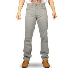 Emba Casual Celana Panjang Pria EPA 012 Modern Basic - Frost Grey