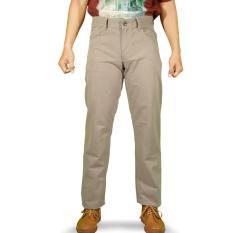 Emba Casual Celana Panjang Pria EPA 012 Modern Basic - Khaky