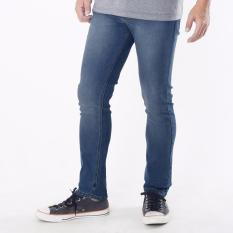 Emba Jeans Celana Panjang Pria BS 07.1 Morgan Slim Regular Fit - Heavy Stone Medium