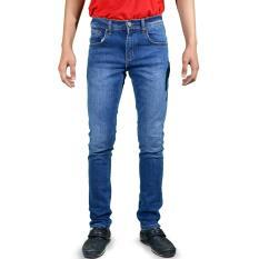 Emba Jeans Celana Panjang Pria BS 07.1 Morgan Slim 61702401-72 - Heavy Stone Medium