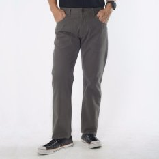 Emba Jeans Celana Panjang Pria BS 08 Jordan Regular - Charcoal