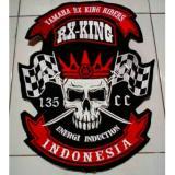 Jual Emblem Bordir Logo Rxking Online