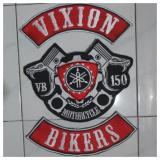 Jual Emblem Bordir Vixion Ebyv01 Cadel