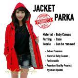 Beli Emdeha Store Terbaru Size Jumbo Jaket Parka Wanita Premium Hoodie Fashionable All Size Fit To Xxl Pake Kartu Kredit
