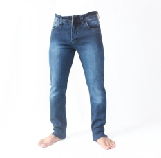 Diskon Em S Celana Denim Soft Jeans Biru Jawa Barat