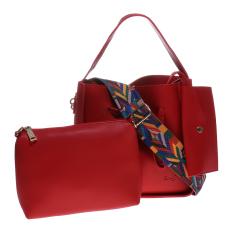 Jual En Ji By Palomino Malika Top Handle Bag Red En Ji By Palomino Murah