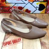 Jual En Jie Flat Casual Eq02 Cream Indonesia Murah