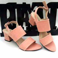 Toko En Jie Heeled Sandals Fr02 Pink Terdekat