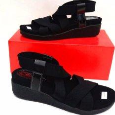 Harga En Jie Heeled Sandals Ic02 Black Dan Spesifikasinya