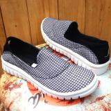 Toko Jual En Jie Sneakers Casual Women Us102 Black White