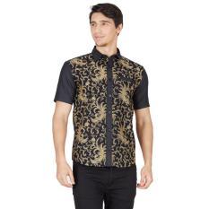 Top 10 En Zy Men Batik Shirt Elang Black Online