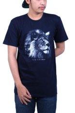 Endorse Tshirt H White Lion Black End Of090 Terbaru