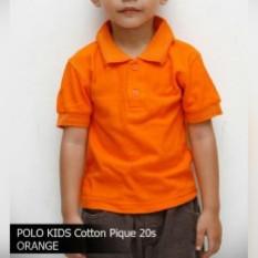 Enzu acc Kaos Kerah Polo Anak Laki-Laki - Cotton Pique - Age 2-6Thn