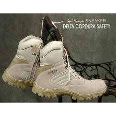 Sepatu Boot Hiking Delta High 8inch Quality Outdoor [BISA BAYAR DI TEMPAT]
