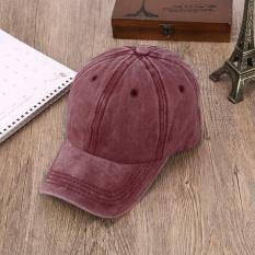 Toko Era Outdoor Unisex Adjustable Washable Sunshade Cap Memuncak Topi Bisbol Hat Cap Terlengkap Tiongkok