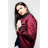 Review Erigo Bomber Jacket Ma Erg Maroon Unisex Indonesia