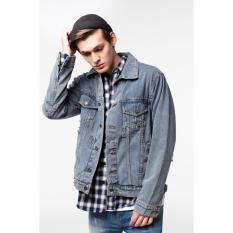 Beli Erigo Trucker Jacket Jeans Lyod Unisex Online Murah