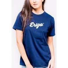 Review Toko Erigo Tshirt Basic Navy Unisex Navy