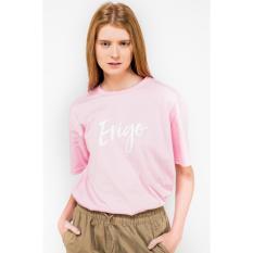 ERIGO Tshirt-BRISIA PINK Unisex
