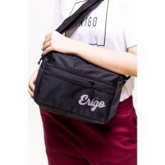 Harga Erigo Waistbag Cedrus Black Unisex New