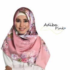 Model Erloz Hijab Adiba Pink Terbaru