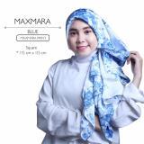 Erloz Hijab Segiempat Royal Maxmara Blue Hijab Diskon 30