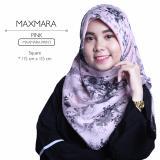 Jual Erloz Hijab Segiempat Royal Maxmara Pink Murah