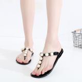 Beli Eropa Dan Amerika Baru Anti Slip Sandal Jepit Sandal Sepatu Jelly Sandal Hitam Sandal Sepatu Wanita Sendal Wanita Kredit Tiongkok