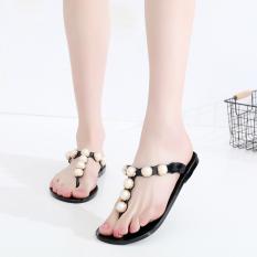 Jual Eropa Dan Amerika Baru Anti Slip Sandal Jepit Sandal Sepatu Jelly Sandal Hitam Sandal Sepatu Wanita Sendal Wanita Murah Tiongkok
