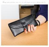 Review Dompet Kulit Produk Baru Dompet Eropa Dan Amerika Anyaman Hitam Tas Tas Wanita Dompet Wanita Di Tiongkok