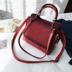 Eropa atau Amerika Serikat Musim Semi atau Musim Panas Baru Elegan Tas Wanita Tas Tangan (Merah)
