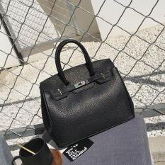 Eropa Dan Amerika Serikat Musim Semi Baru Tas Model Hermes Modis Tas Wanita (Hitam)