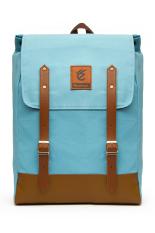 Beli Tas Backpack Kuliah Wanita Fintagio Tercerio Light Blue Lengkap