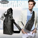 Review Tentang Esogoal Men S Chest Leather Shoulder Bag Multi Pocket Outdoors Travel Backpack Fashion Casual Sling Bags Satchel Backpack