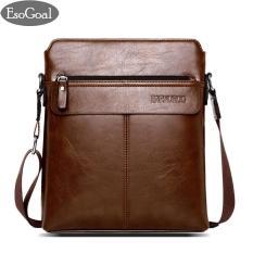 Harga Esogoal Men S Shoulder Bag Vintage Leather Briefcase Messenger Bags Business Handbags Esogoal Ori