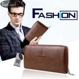Diskon Esogoal Dompet Kulit Panjang Pria Bisnis Premium Clutch Wallet Handbag Men Fashion Hand Bag Pu Leather Wallet Tiongkok