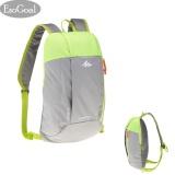 Harga Esogoal Olahraga Anak Anak Orang Dewasa Outdoor Backpack Daypack Mini Kecil Bookbags 10L Abu Abu Hijau Intl Yg Bagus