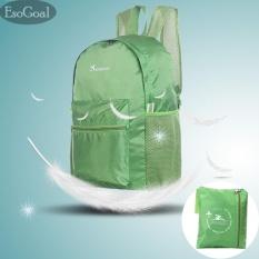 EsoGoal Ultralight Handy Travel Backpack Waterproof Tas Kemasan Hiking  Daypack Lipat Berkemah Bersepeda Di Luar Sekolah fb17c52e60