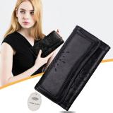 Beli Esogoal Wanita Besar Kapasitas Leather Purse Hollow Out Clutch Dompet Trifold Buku Cek Dengan Photo Pocket Esogoal Murah