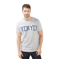 Diskon Esprit 027Ee2K042 Male S T Shirts Light Grey Akhir Tahun