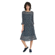 Esprit 037CC1E023 Women's Dresses - Navy 2