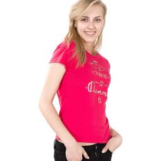 Spesifikasi Esprit 037Cc1K036 Women S T Shirts Red Lengkap